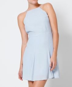 ICE BLUE BACKLESS DRESS | Dresses | Clothing | Shop Womens | General Pants Online