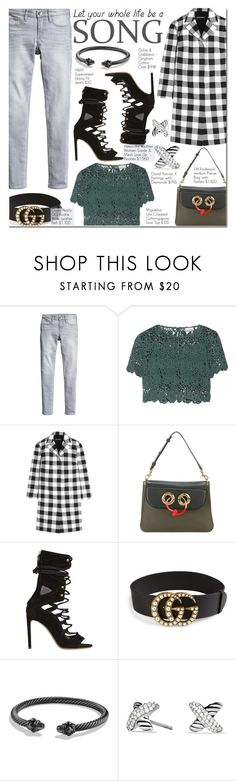"""Margot"" by nindi-wijaya ❤ liked on Polyvore featuring Miguelina, Dolce&Gabbana, J.W. Anderson, Alexandre Vauthier, Gucci and David Yurman"