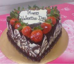 Fresh strawberries and Belgian chocolate