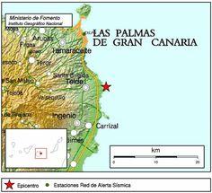 terremoto en Telde, Canarias