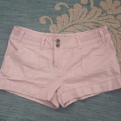"""Toxik linen shorts NWT 100% linen shorts with cute cuffs. About 2 1/2"""" inseam. Toxik Shorts"""