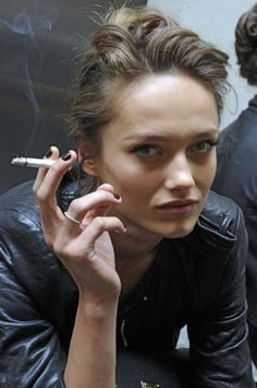 Don't love smoking (cigarettes)...but I love this photo.