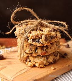 Vegan Trail Mix Cookies