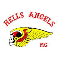 """Influence - The Hells Angels """"Death Head"""" Logo. The Angels were formed from a squadren of bombers who called themselves """"The Hells Angels"""", uppon returning after the war they formed a motorcycle club for themselves and kept the name they used during the war. Today The Hells Angels are one of the largest and most successful Motorcycle Clubs in the world with 230 chapters in 27 countries, and over 3000 active members, and are a major counter culture focal point. (hells-angels, 2012)"""