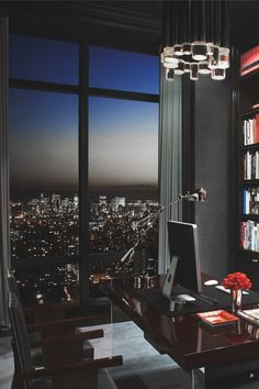 The Best of Home Office Design – Luxury Office Designs Dream Home Design, Home Office Design, My Dream Home, Home Interior Design, Exterior Design, Office Decor, Office Ideas, Luxury Interior, Office Nyc