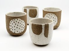 This rustic cup is perfect for your morning cuppa. It has been hand formed by me from textured, earthy stoneware clay on the wheel. After shaping