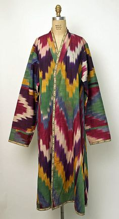 Robe Uzbekistan, 19th century The Metropolitan Museum of Art