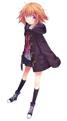 Anime Girl in a coat. Aaawwww she is so kawaii looking Anime Girls, Kawaii Anime Girl, Manga Girl, Girls Characters, Manga Characters, Anime Chibi, Manga Anime, Otaku, Pretty Anime Girl
