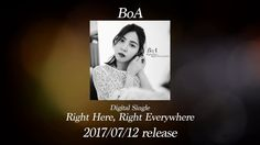 BoA / 「Right Here, Right Everywhere」試聴用映像