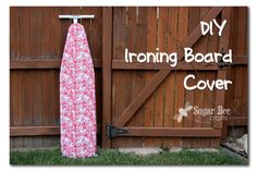 Has your ironing board cover seen better days? Mandy from Sugar Bee Crafts show how you can make a new cover for your ironing board. Sewing Hacks, Sewing Tutorials, Sewing Crafts, Sewing Projects, Craft Projects, Craft Ideas, Sewing Ideas, Sewing Tips, Sewing Patterns