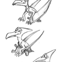 Some sketches of the @pterodactive pet!  Don't forget to take a look at their web: https://www.facebook.com/pterodactive  #pterodactyl #dinosaur #pet #sketch #doodle #draw #drawing #pencil #traditional #art #character #design #concept #visualdevelopment #animation #illustration #artistoninstagram