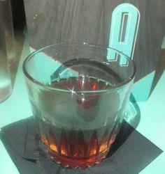 De Moda: overproof dark rum, Lustau East India Solera Sherry, demerara syrup, Angostura bitters, cardamom bitters