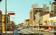 Elkhart, Indiana. How awesome would it be if downtown was still that cool?