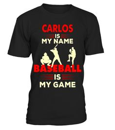 """# Baseball T-Shirt Carlos Name Tee Shirt Apparel Gift .  Special Offer, not available in shops      Comes in a variety of styles and colours      Buy yours now before it is too late!      Secured payment via Visa / Mastercard / Amex / PayPal      How to place an order            Choose the model from the drop-down menu      Click on """"Buy it now""""      Choose the size and the quantity      Add your delivery address and bank details      And that's it!      Tags: Carlos is my name Baseball is…"""