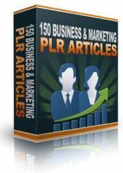Product Description Personal Use    Introducing .... 150 Business & Marketing PLR Articles ......   File : Personal Use Rights   Brief Note :   Massive package of 150 Business & Marketing PLR Articles for you to use on your website or autoresponder series etc...     Below are some of the information that you will find :    •Direct Sales Articles   •Facebook Articles   •Success Mindset Articles   •Twitter Articles   •WAHM Articles   •Online Profits Articles   •Blogging Articles   •Content…