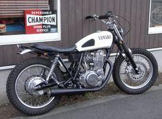 Yamaha Street Tracker #motorcycles #streettracker #motos | caferacerpasion.com