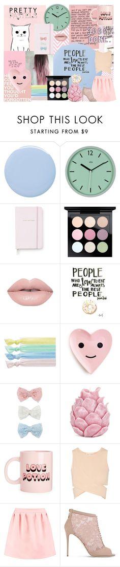 """Pastel "" by ria-edwards on Polyvore featuring Reverie, Deborah Lippmann, Kate Spade, MAC Cosmetics, Ribband, Decree, Zara Home, Jonathan Simkhai, Maison Kitsuné and Dolce&Gabbana"