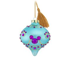 Mickey Mouse Ornament | Ornaments | Disney Store -- LOVE this...reminds me of Aladdin ♥