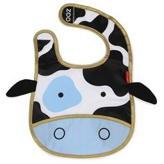Buy Skip Hop: Zoo Bib - Cow online and save! The adorable bib that fits into its own little pouch. Zoo Bibs are lightweight and water-resistant with a handy catch-all pocket to keep things neat . Toddler Bibs, Baby Bibs, Toddler Girl Outfits, Kids Outfits, E Commerce, Skip Hop Zoo, Agatha, Baby Shop, Burp Cloths