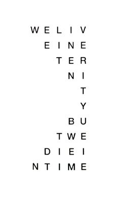 visual-poetry: by carl andre (+)