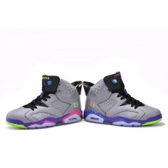 3fc96f81d6b17c Jordan 6 Grey Black Purple