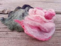 Handcrafted with merino and silk. Brooch, Send Flowers, Rose, Free Delivery, Ireland, Gifts, Presents, Xmas, Vintage