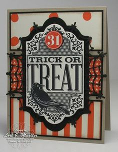 Stampin Up Witches Night Halloween card