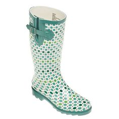 Polka Dot Rainboots with bows using Vinyl @twoprincebakerytheater ...