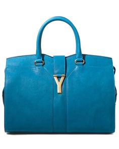 "Yves Saint Laurent ""Cabas Chyc"" Medium Leather Tote"