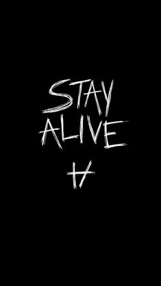 Stay alive for me ,You will die but now your life is free .take pride in what's yours
