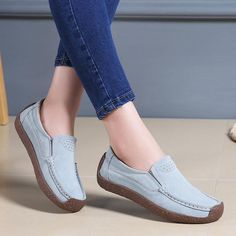 1f8ae0ccdc46 Women Casual Comfort Hot Sale Flat Shoes Slip On Shoes