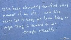 georgia-okeeffe-inspirational-quote.jpg 585×337 pixels