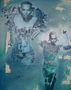 """Saatchi Art Artist jenna newton; Collage, """"untitled"""" #art"""