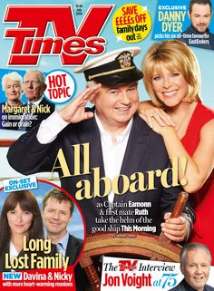 Get your digital subscription/issue of TV Times-July 2014 Magazine on Magzter and enjoy reading the magazine on iPad, iPhone, Android devices and the web. Eamonn And Ruth, Soap News, Top Film, Tv Times, Time Magazine, Family Day, Tv Guide, Tv On The Radio, On Set