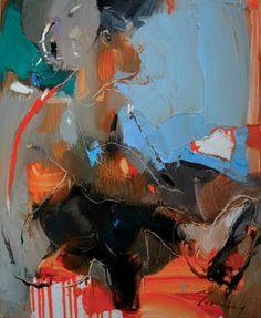 "Saatchi Art Artist Iryna Yermolova; Painting, ""Ice skate rink. Sketch 2"" #art"