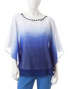 Shop today for Ruby Rd. Petite Ombre Butterfly Woven Top & deals on Blouses! Official site for Stage, Peebles, Goodys, Palais Royal & Bealls.