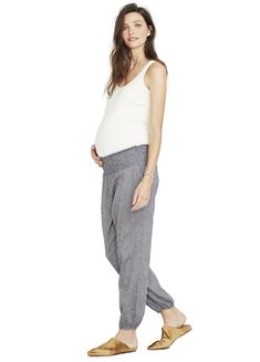 3a6faeabc3ebc THE WEEKEND PANT – HATCH Collection Maternity Fashion, Maternity Clothing, Hatch  Maternity, Parachute