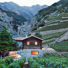 Maison Germanier, Swiss mountain cabin