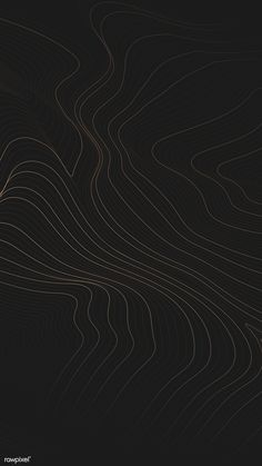 Topographic contour lines background vector | free image by rawpixel.com / manotang