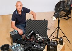 Inside a professional portrait photographer's camera bag: every item, every shoot