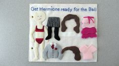 """""""Help Hermione get ready for the ball"""""""