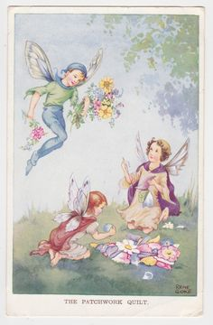 Rene Cloke postcard