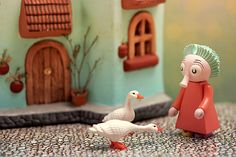 Moomin diorama