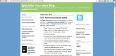 Top 15 Insurance Blogs of 2013 - Great example of Link Bait Here.    https://www.blitzleadmanager.com/blog/index.php/2013/top-15-insurance-blogs-for-2013/