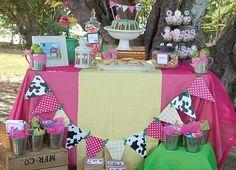 Sweet girly farmer birthday party idea for my sweet, little farm girl!!