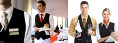 waiter uniform with tie - Google Search