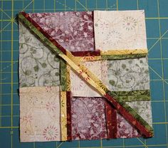 Accidental Quilt block redone Final Back