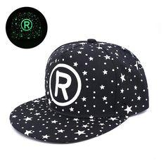 New Fashion Luminous Hat Snapback Cap For Men Women Cap Baseball Cap Hip  Hop Hat Printing Bone casquette gorras Drop Shipping 7b0c0c7929a7