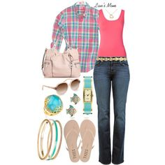 This is a cute outfit.