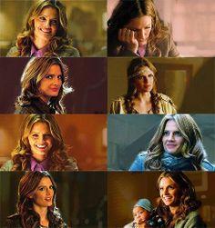 Beckett looks at Castle